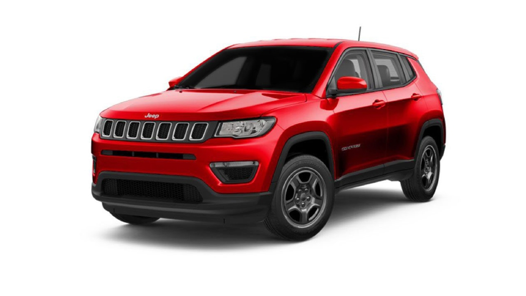Jeep  Compass Exotica Red Colour