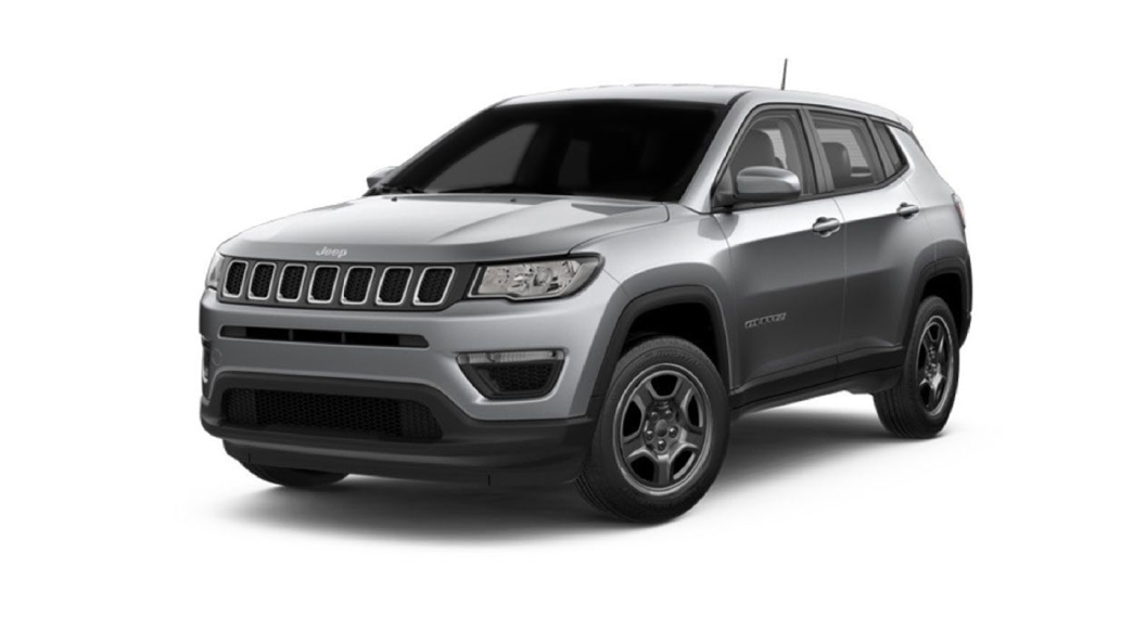 Jeep  Compass Minimal Grey Colour