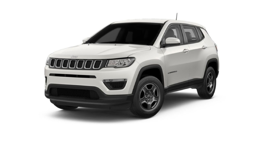 Jeep  Compass Vocal White Colour