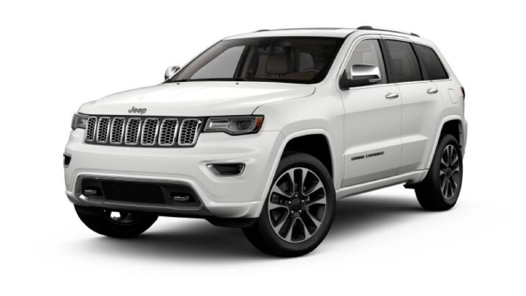 Jeep  Grand Cherokee Bright White Colour