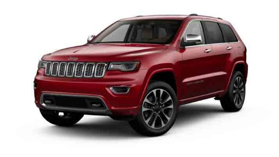 Jeep  Grand Cherokee Deep Cherry Red Crystal Pearl Colour