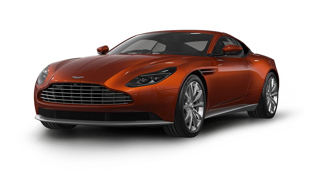 Aston Martin  DB11 Cinnabar Orange Colour
