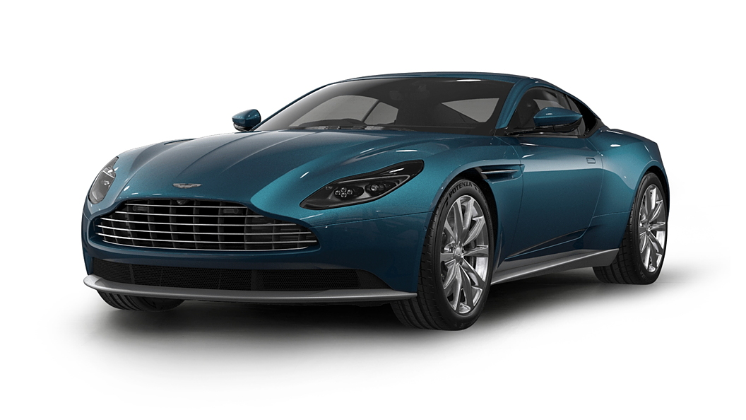 Aston Martin  DB11 Intense Blue Colour