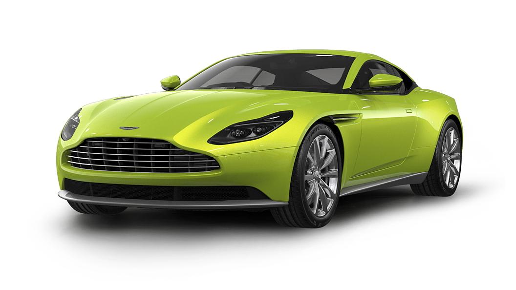 Aston Martin  DB11 Lime Essence Colour