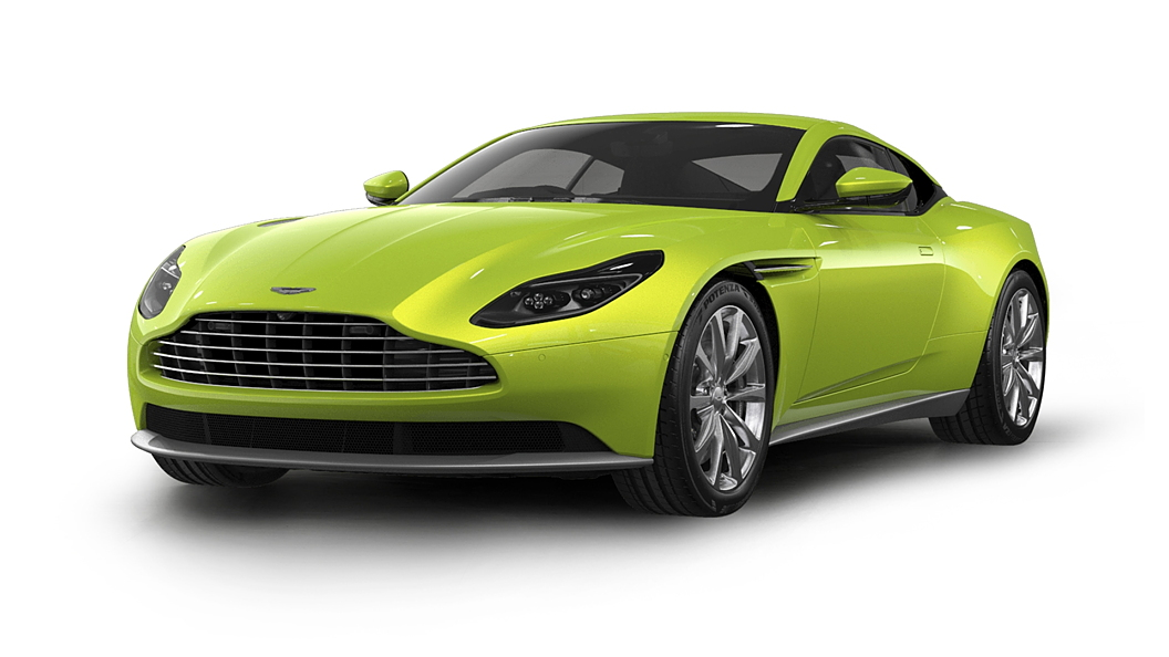 Aston Martin  DB11 Lime Essence Colour