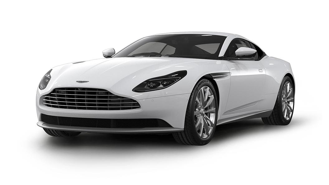 Aston Martin  DB11 Lunar White Colour