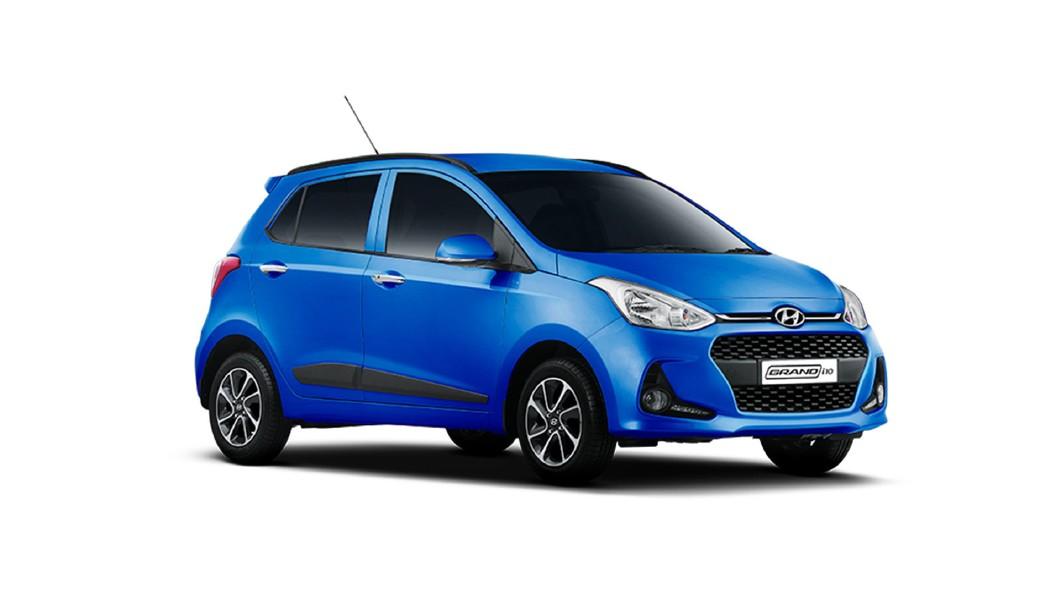 Hyundai  Grand i10 Marina Blue Colour