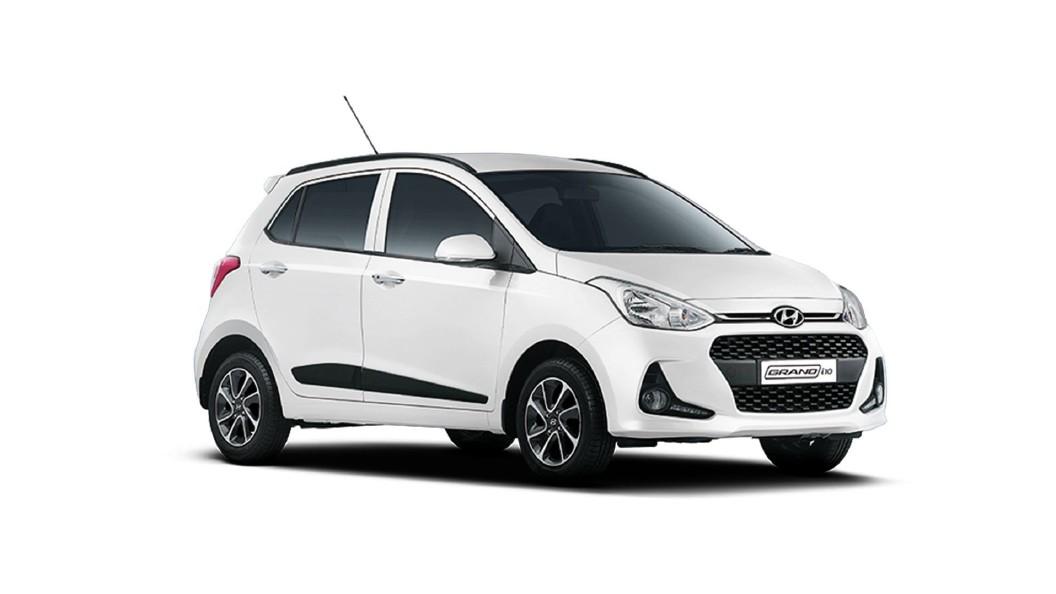 Hyundai  Grand i10 Polar White Colour