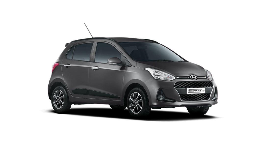 Hyundai  Grand i10 Titan Grey Colour