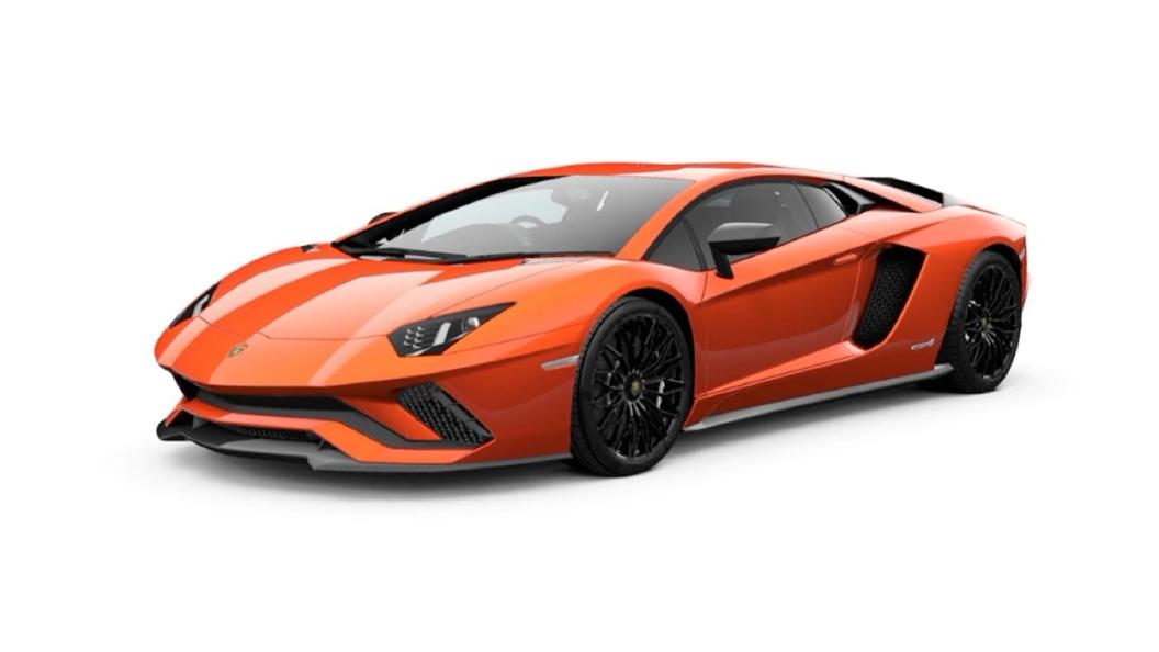 Lamborghini  Aventador Arancio Argos Pearl Colour