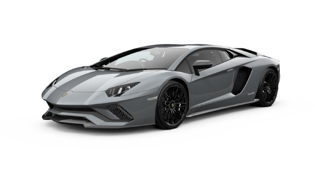 Lamborghini  Aventador Grigio Telesto Pearl Colour
