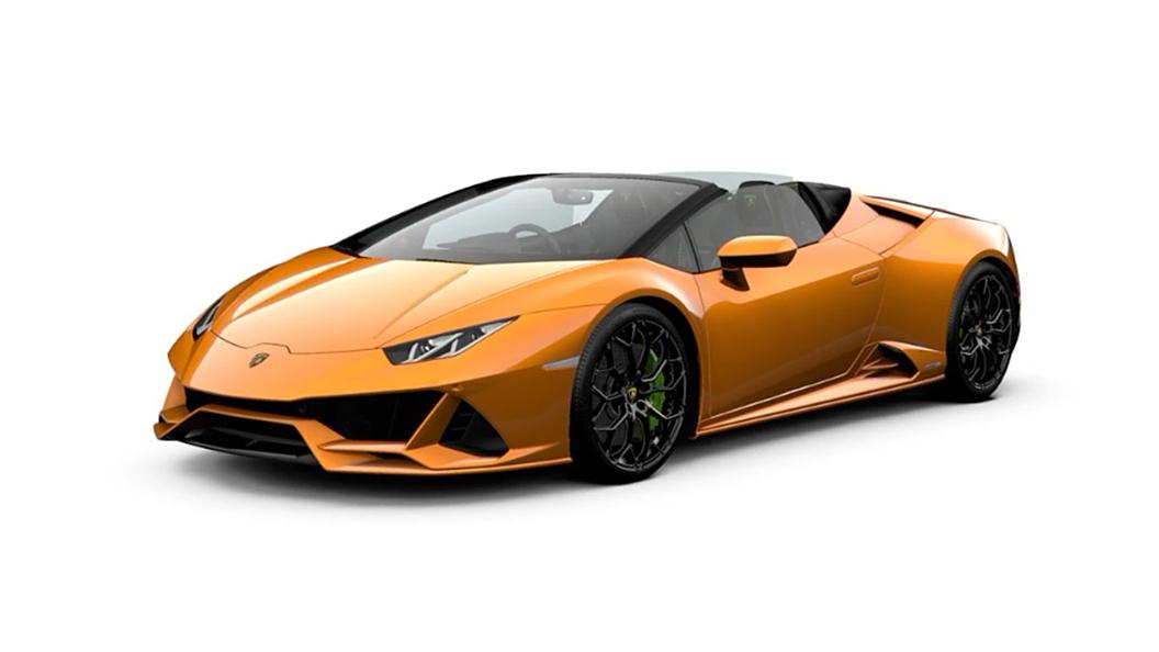Lamborghini  Huracan Evo Arancio Borealis Colour