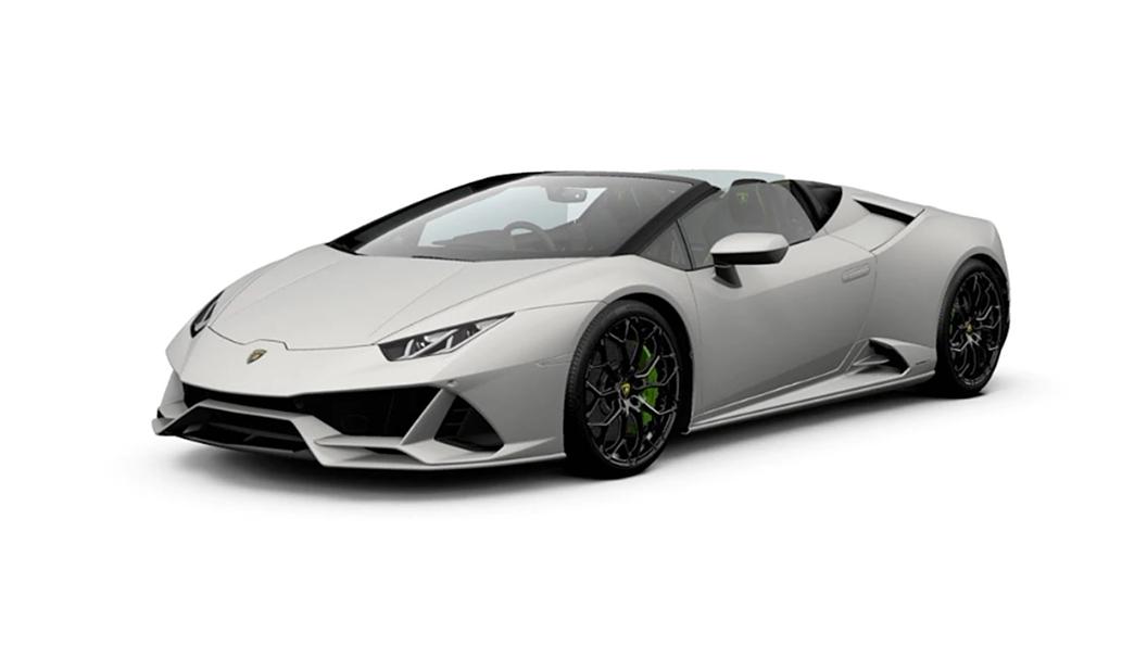 Lamborghini  Huracan Bianco Canopus Colour