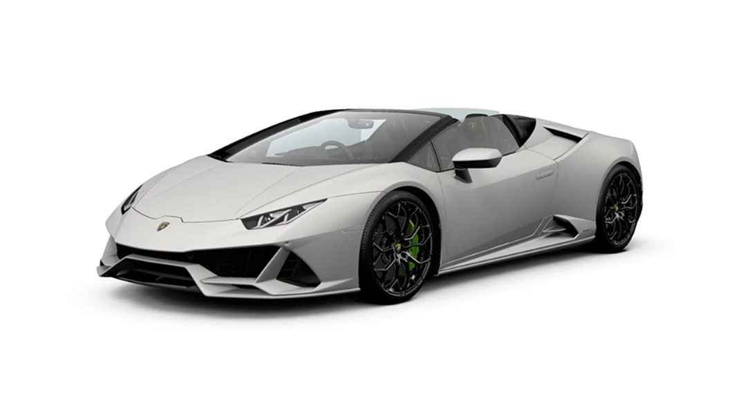 Lamborghini  Huracan Evo Bianco Canopus Colour