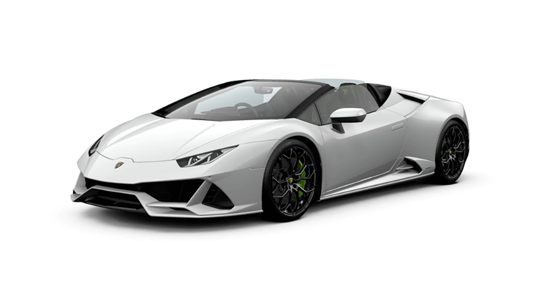 Lamborghini  Huracan Evo Bianco Icarus Colour