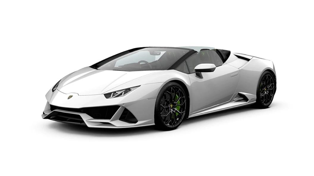 Lamborghini  Huracan Evo Bianco Monocerus Colour