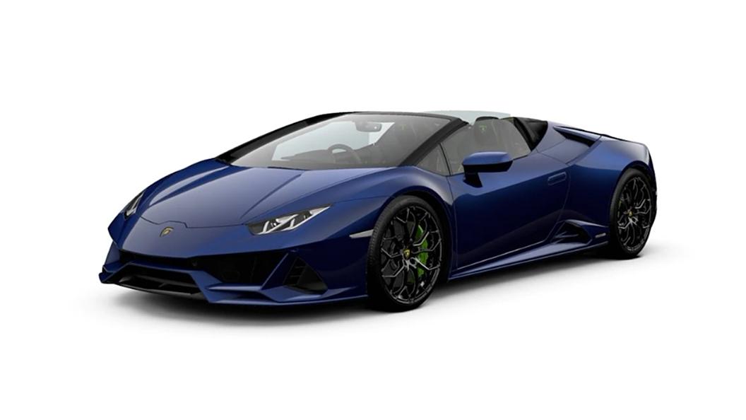 Lamborghini  Huracan Evo Blu Sideris Colour