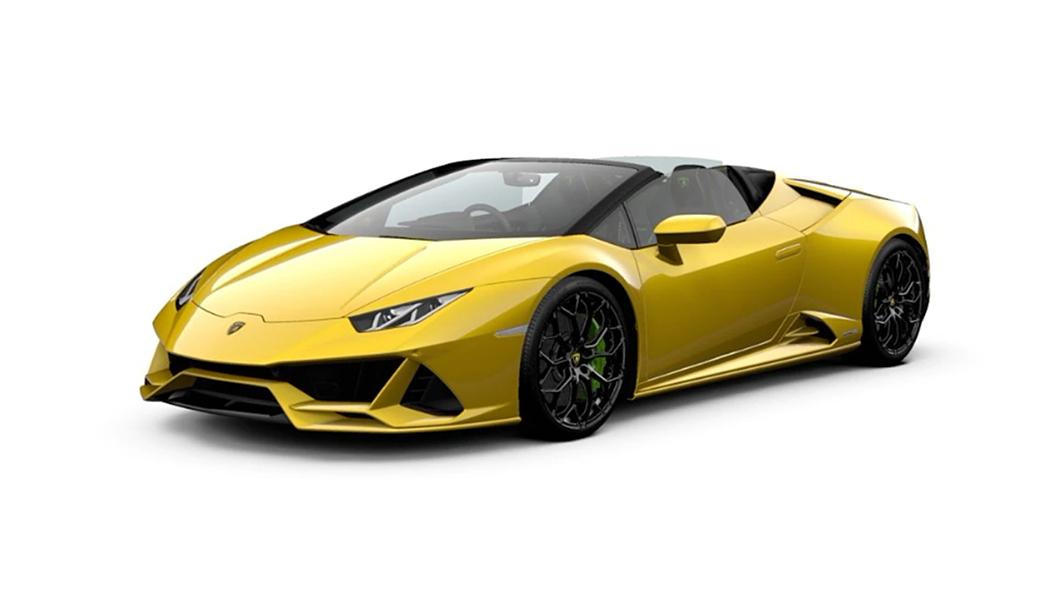 Lamborghini  Huracan Giallo Inti Colour