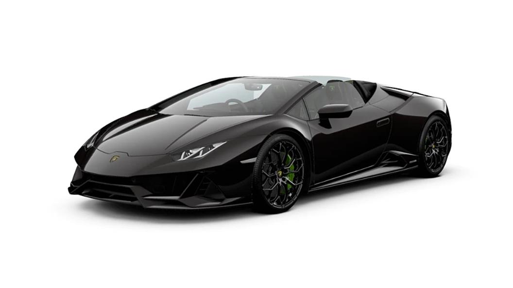 Lamborghini  Huracan Evo Nero Granatus Colour