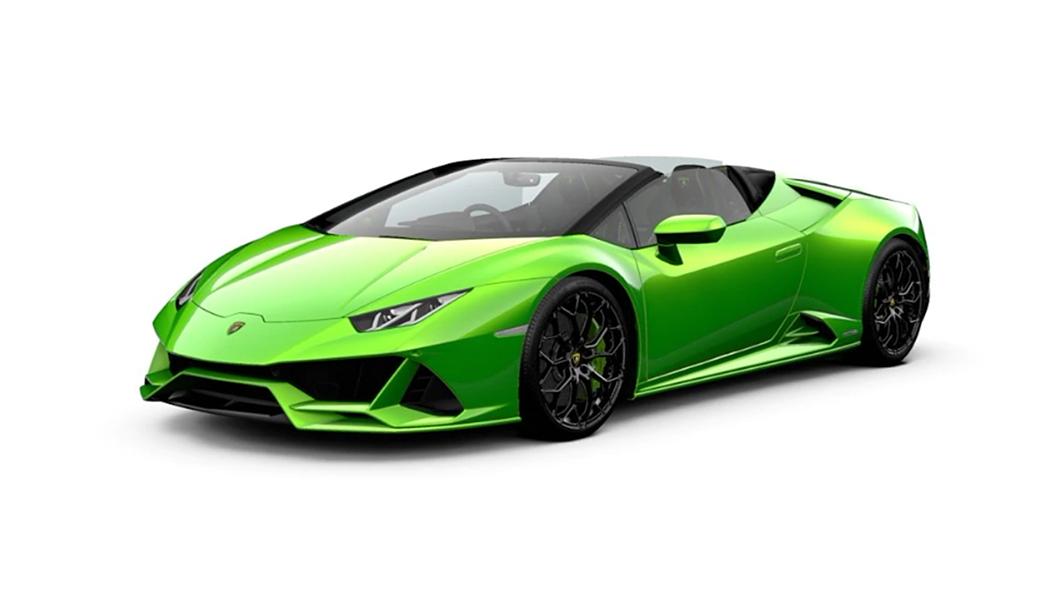 Lamborghini  Huracan Evo Verde Selvans Colour