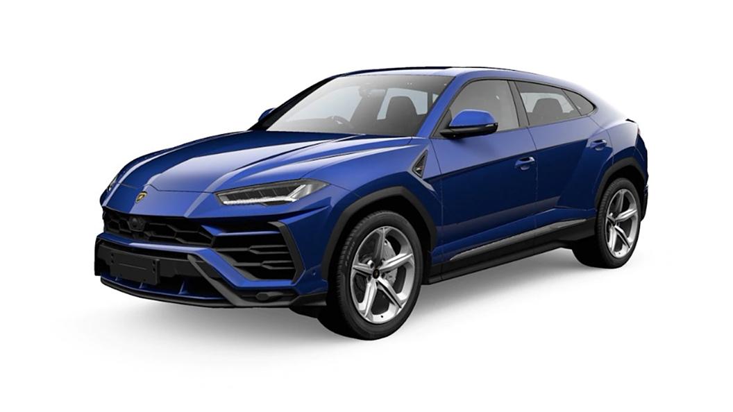 Lamborghini  Urus Blu Astraeus Colour