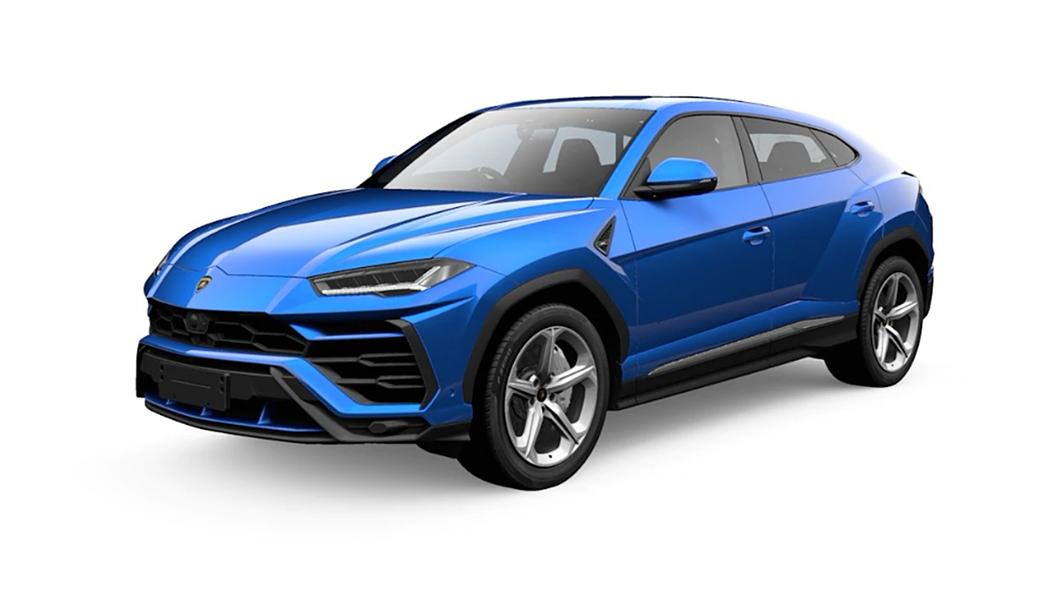 Lamborghini  Urus Blu Eleos Metallic Colour