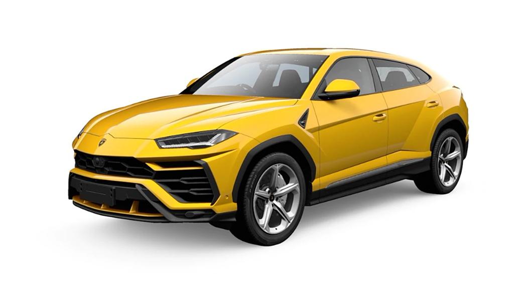 Lamborghini  Urus Giallo Auge Colour