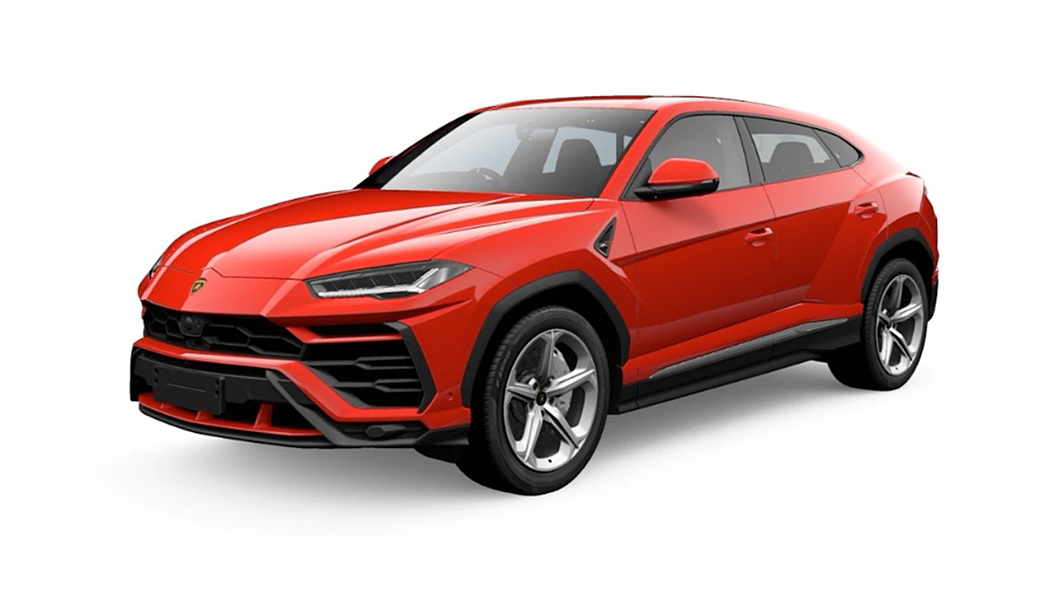 Lamborghini  Urus Rosso Anteros Metallic Colour