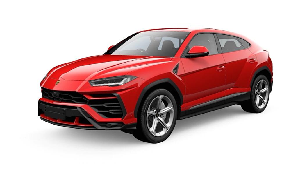 Lamborghini  Urus Rosso Mars Metallic Colour