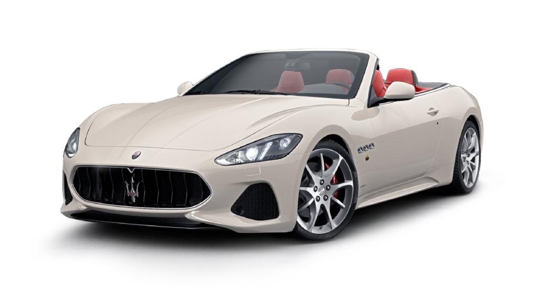 Maserati  GranCabrio Bianco Eldorado Colour