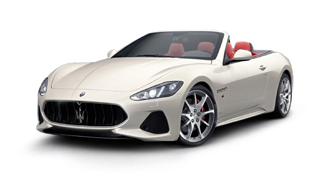 Maserati  GranCabrio Bianco Fuji Colour