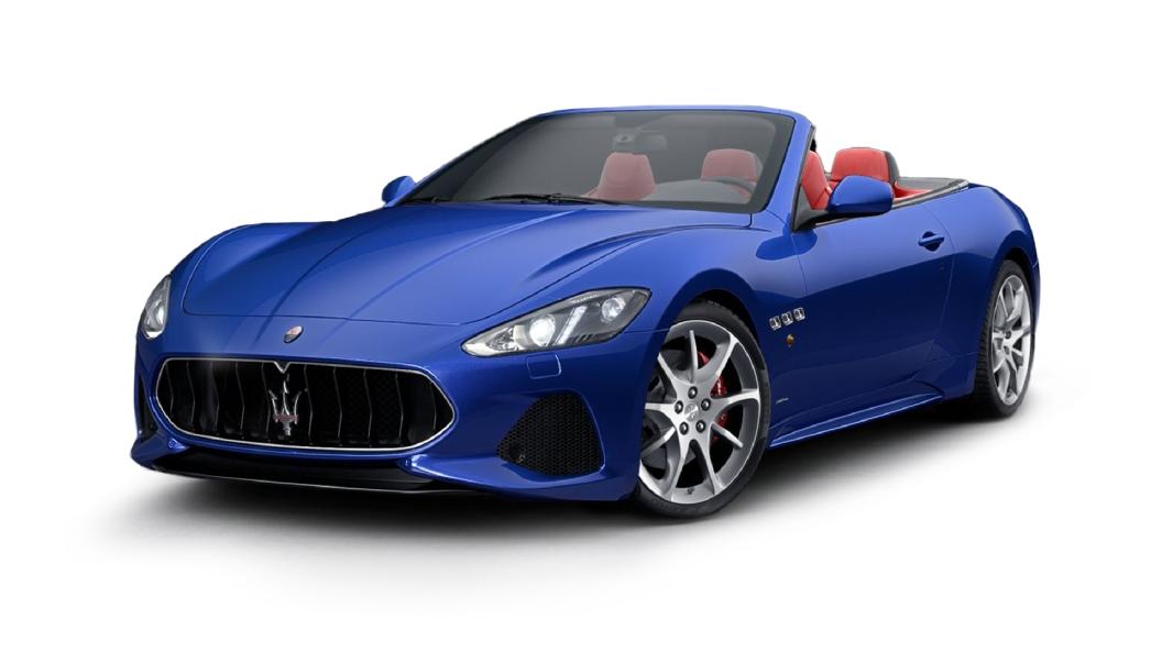 Maserati  GranCabrio Blu Inchiostro Colour