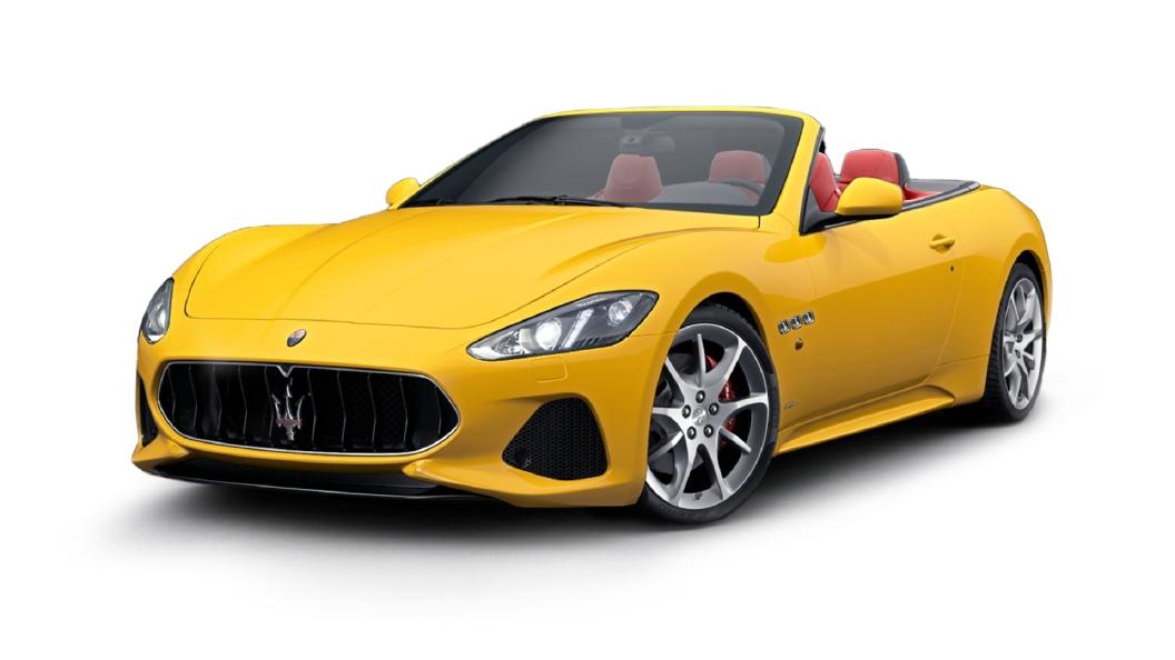 Maserati  GranCabrio Giallo Granturismo Colour