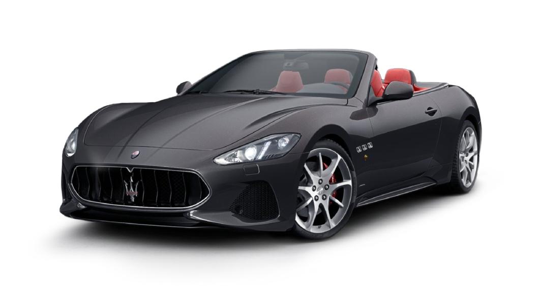 Maserati  GranCabrio Grigio Lava Colour