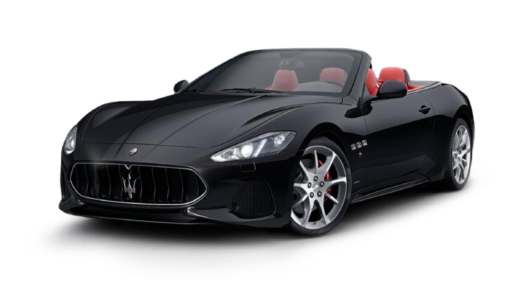 Maserati  GranCabrio Nero Carbonio Colour