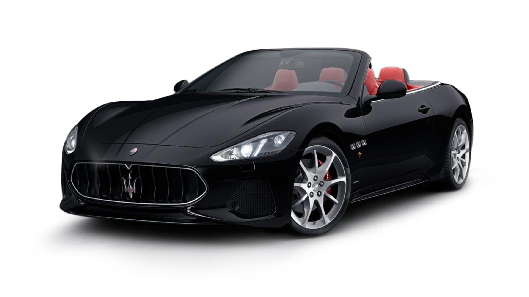 Maserati  GranCabrio Nero Colour