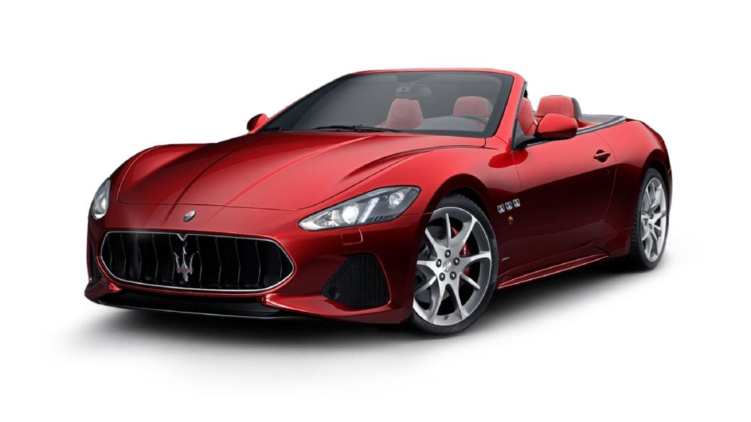 Maserati  GranCabrio Rosso Italiano Colour
