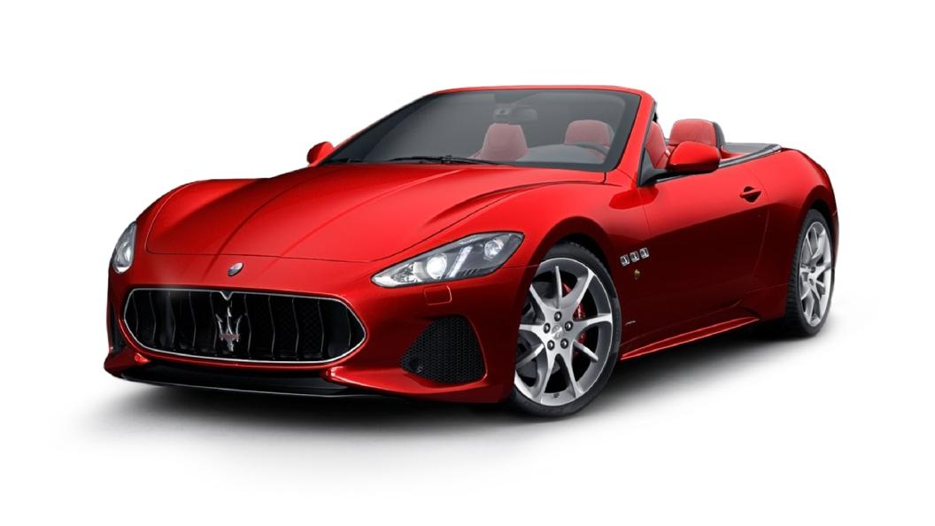Maserati  GranCabrio Rosso Magma Colour