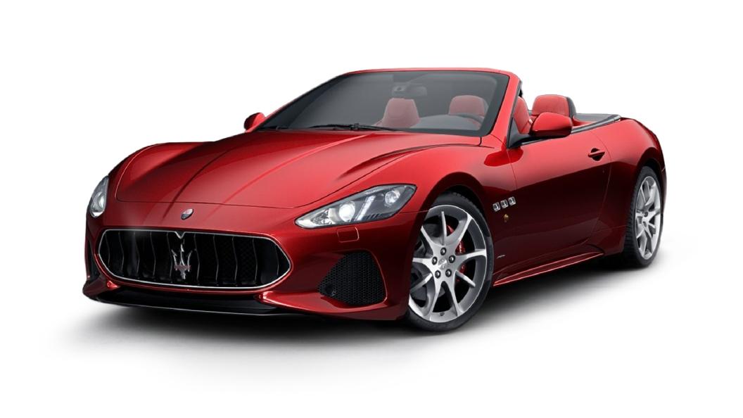 Maserati  GranCabrio Rosso Trionfale Colour