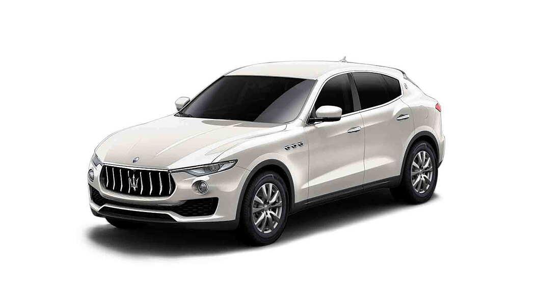 Maserati  Levante Bianco Alpi Colour