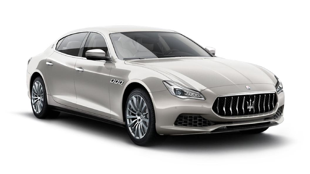 Maserati  Quattroporte Bianco Alpi Colour