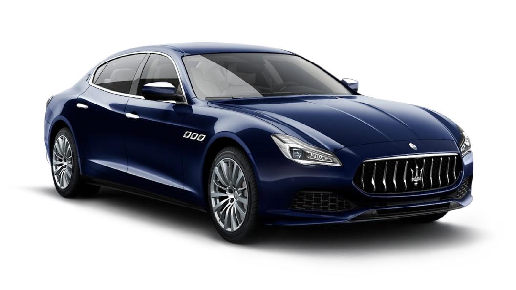 Maserati  Quattroporte Blu Passione Colour