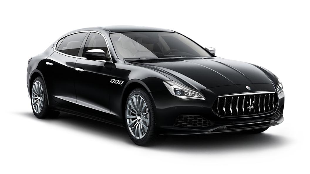Maserati  Quattroporte Nero Ribelle Colour