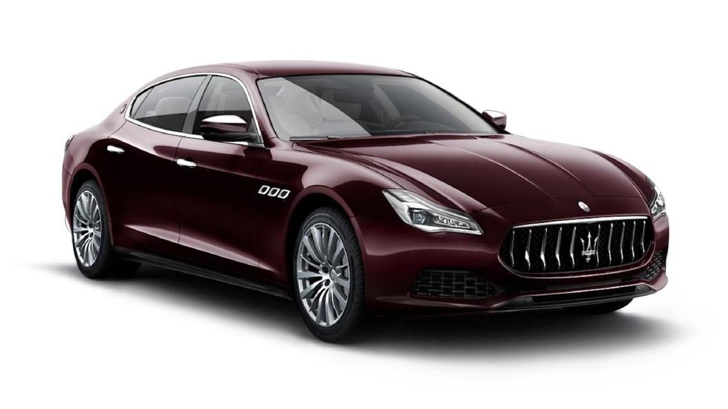 Maserati  Quattroporte Rosso Folgore Colour