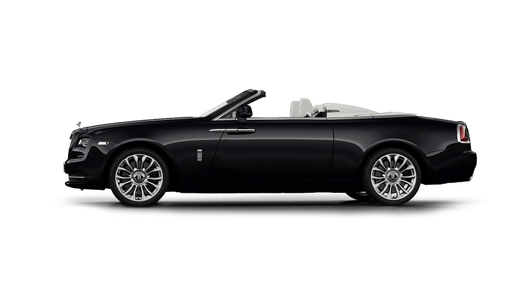 Rolls-Royce  Dawn Black Diamond Colour