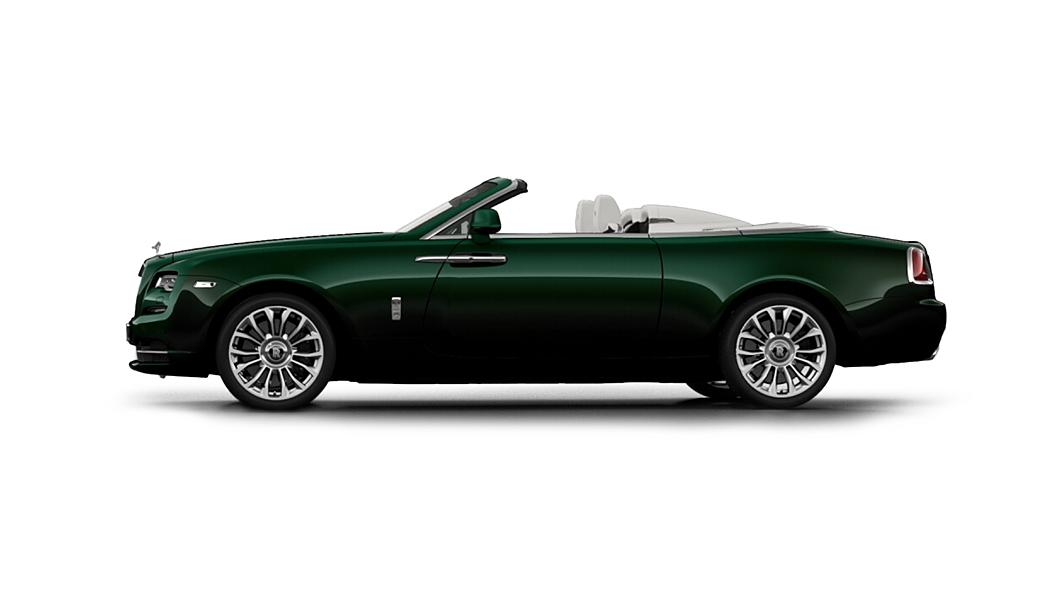 Rolls-Royce  Dawn Emerald Green Colour