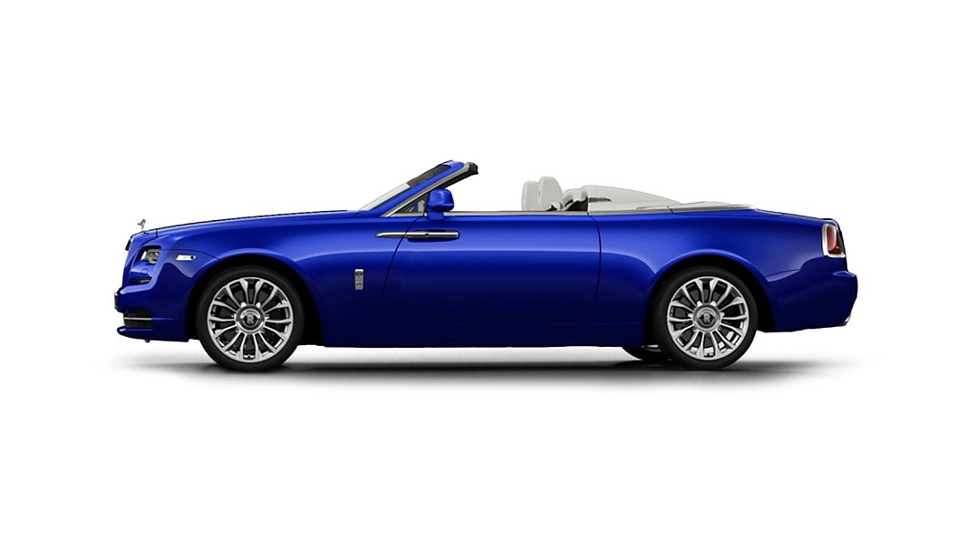 Rolls-Royce  Dawn Salamanca Blue Colour