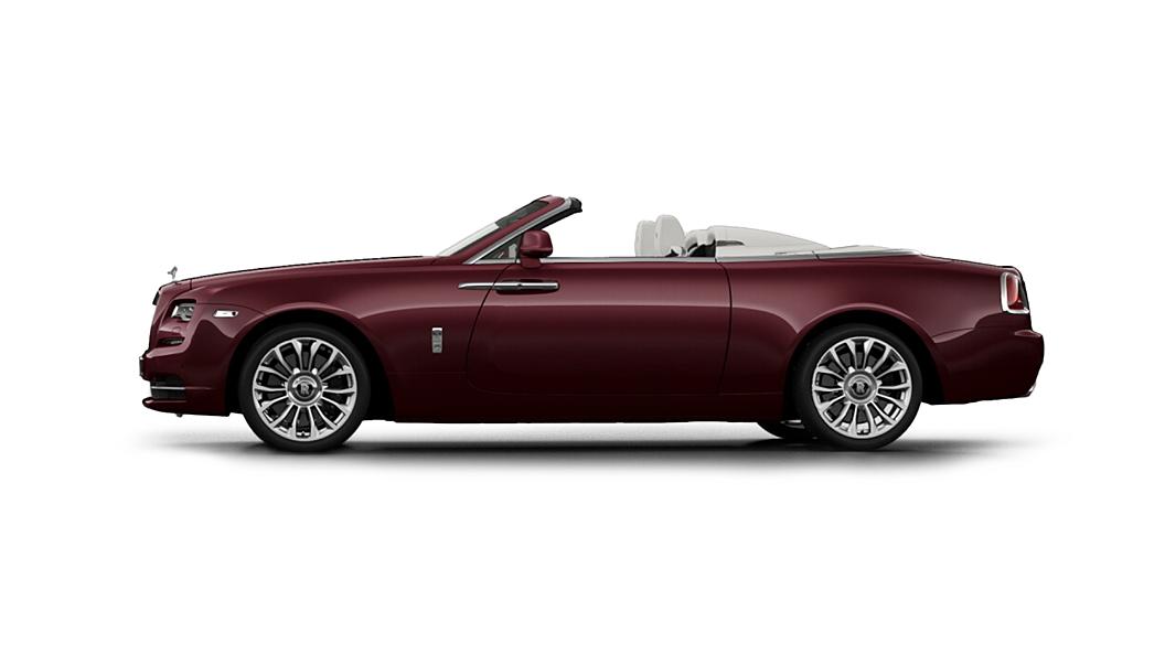 Rolls-Royce  Dawn Scala Red Colour