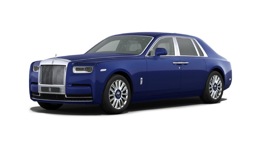 Rolls-Royce  Phantom Coupe  Salamanca Blue Colour