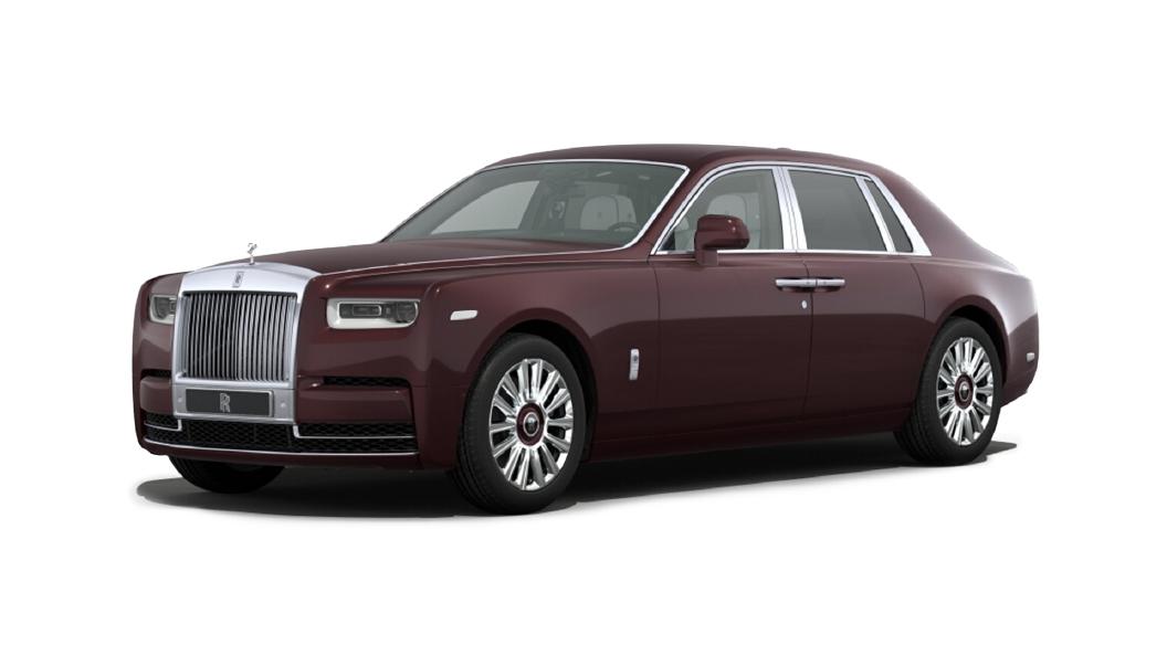 Rolls-Royce  Phantom Coupe Bohemian Red Colour